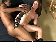 Teen fucked by a huge black cock 21