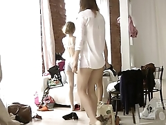 Cousin and her friends caught on hidden camera -   16Kcams.com
