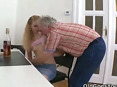 Old Goes Young - Rosy is an attention whore