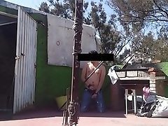 Jerking yon produce a overthrow at y neighbor roof top