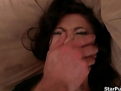 Slutty Asian gets some kinky hardcore fucking in bed-part-02