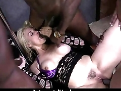 Teen fucked by a telling black cock 5