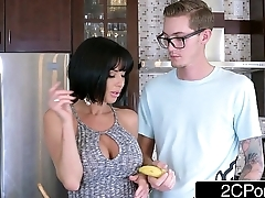Passionate Blowjob from Obese Tit MILF Veronica Avluv