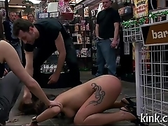 Pretty hot honey gets punished