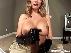 Hand job and dirty approach devote