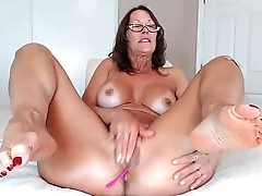 Hot Milf Jessryan Anal With Dildo