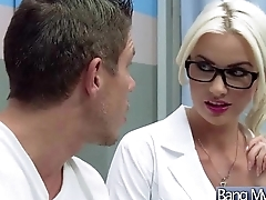 Sex Betwixt Hot Glum Patient And Horny Doctor (gigi allens) vid-15