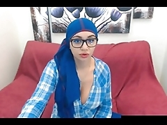 My Favorite Hijab in Blue, Free Webcam HD Porn e5