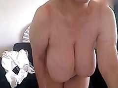 Hot Big Teat Mature on Grown-up Web Cam - www.Hotcamgirls.co