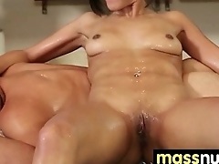 Nuru Massage Ends with a Hot Shower Be captivated by 29