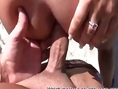 Unskilful Beach Sex: Back on naughty-cam.com