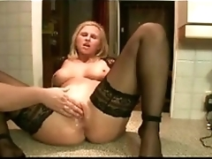 Mom gets Fisted on Kitchen Counter - Everywhere to hand MOISTCAMGIRLS.COM