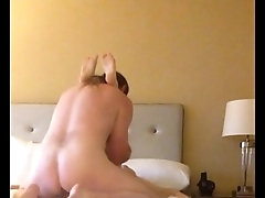 Stranger Gives Blonde Get hitched a Creampie