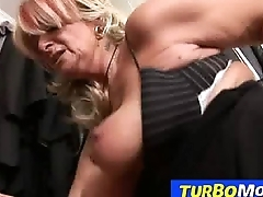 Hungarian gilf Judit fucked by oversexed stud