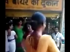 Indian naughty street girls doing naughty do business road