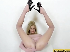 Shove around Bella Karina nylon not that