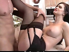 MOM Working MILF fucks her consumer 4
