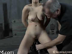 Torturing beauty with vibrators