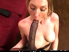 Creamy tight snatch white riding black 9