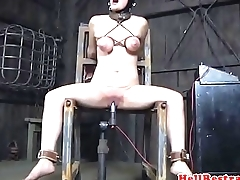 Breastbondage take no action flogged and whipped