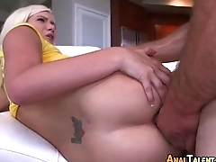Lovable Newbie Loves Anal-Play