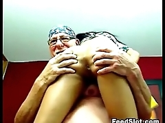 Age-old Guy And A Whore Fucking Live