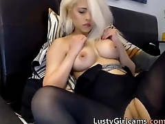 Sexy Teen fingering on cam - More on www.hotcamgirls.co
