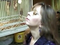 MILF from next door and swallows - more videos on www.69SexLive.com