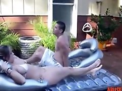 Step Sister and Not Say no to Step Brother Sunbathing Porn abuserporn.com