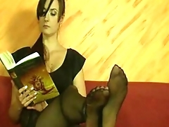 sexy sister twitting with will not hear of feet