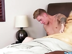 Classy beauty cocksucking in front doggystyle