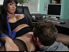 Horny office lady fucked hard uncensored 5