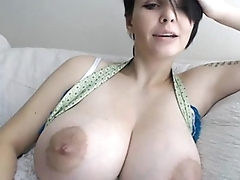 Girl Huge Tits Plays with Toy - more free cams at CamsHub.net