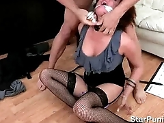 Busty Tory Lane fucked in her office