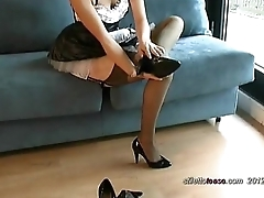 High Heels Maid JOI