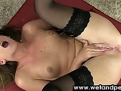 Wild chick showering their way hot body in recorded e find favour