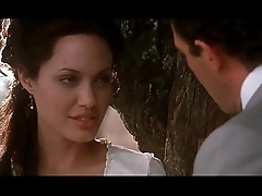 Angelina Jolie &amp_ Antonio Banderas hot sex from Original Sin (HD quality)