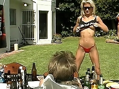 Tracy Backyard Wrestling Tease
