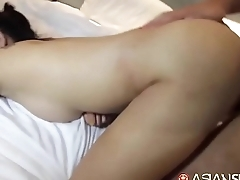 filipina scholgirl ditched school with the addition of ended up property fucked by german guy