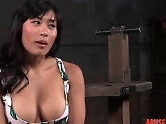 Shackled Asian Slut'_s Pussy and Mouth Used: Easy HD Porn d5 - abuserporn.com