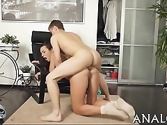 Superlatively good anal sex porn